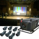 Large Projector and screen rental nyc