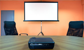 Projection system for rent