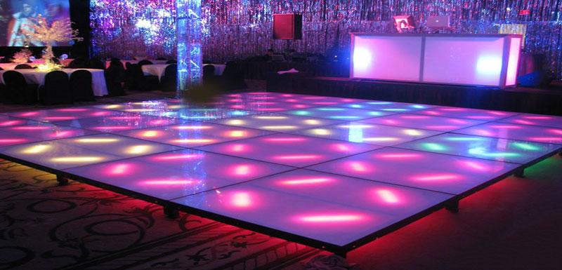 LED dance floor rental NYC